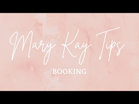Booking Tips Mary Kay NSD Auri Hathaway