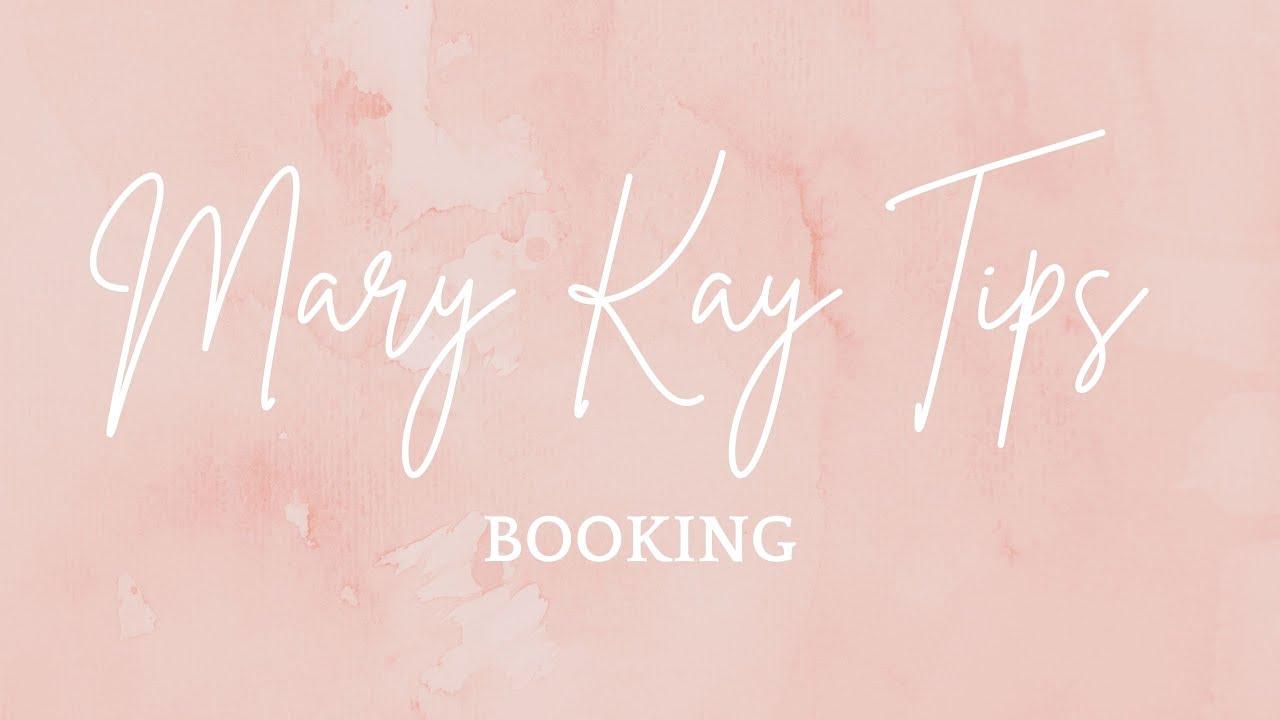 Booking Tips Mary Kay NSD Auri Hathaway - YouTube