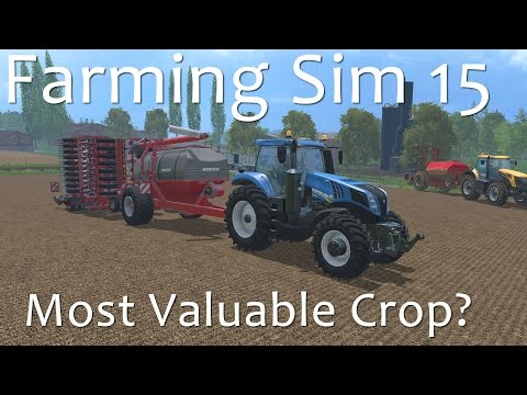 Farming Simulator 15 - Most Valuable Crop Award