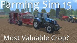 Farming Simulator 15 - Most Valuable Crop Award
