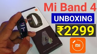 ₹2299 Mi Band 4 Unboxing & Review | Buy Mi Band 4 in India from Banggood