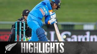 Mandhana Scores Century as India Dominate   HIGHLIGHTS   WHITE FERNS v India   1st ODI, 2019