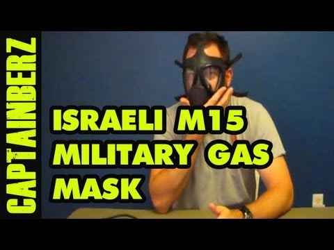 Israeli M15 Gas Mask Review