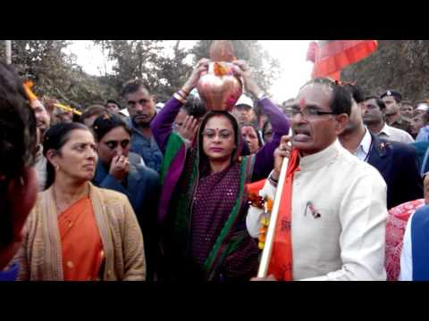 chief minister shivraj singh angry of superintendent of police jabalpur