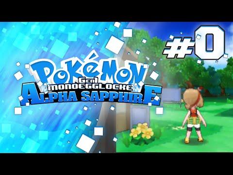 "Pokemon Alpha Sapphire GenOne Locke  w/ BlueJayOnToast Ep 00 ""A New Adventure"""