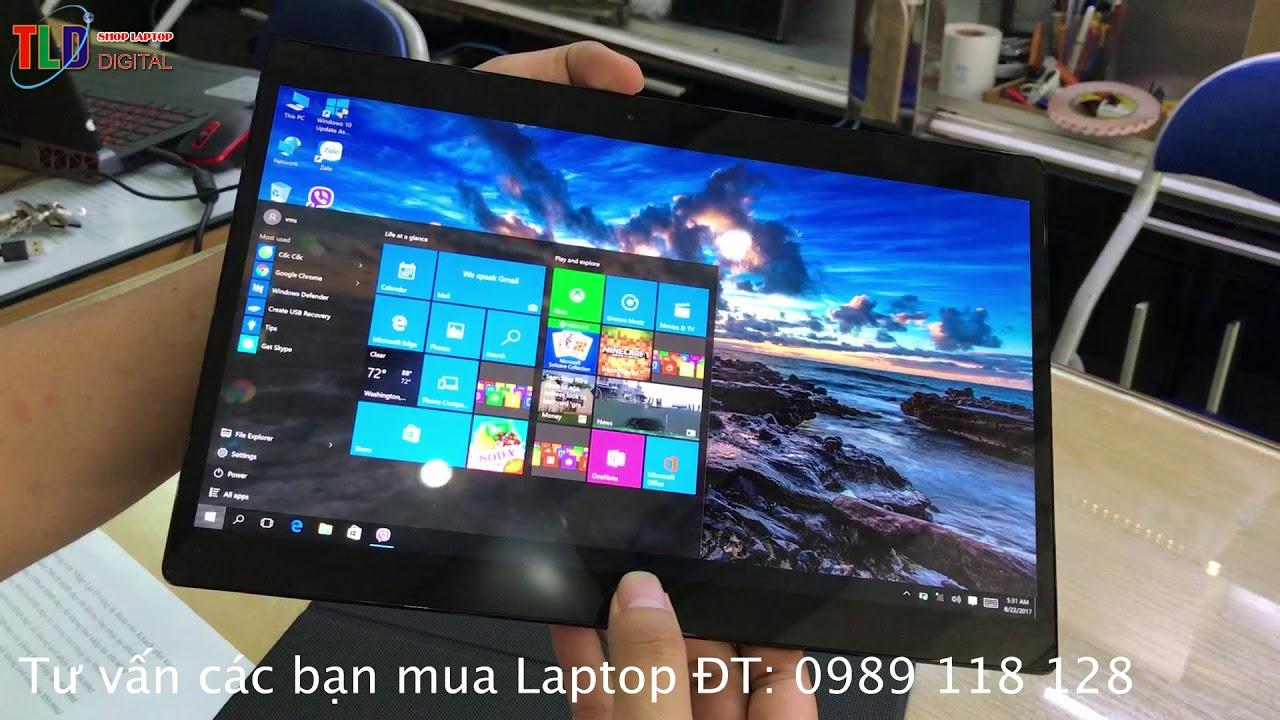 Laptop Dell XPS 9250 màn hình 12,5'' 4k xuất sắc nhất thế giới