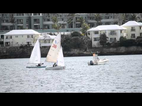 Sailing in Hamilton Harbour Jan 22 2012