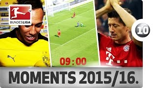 Top 10 Moments - 2015/16