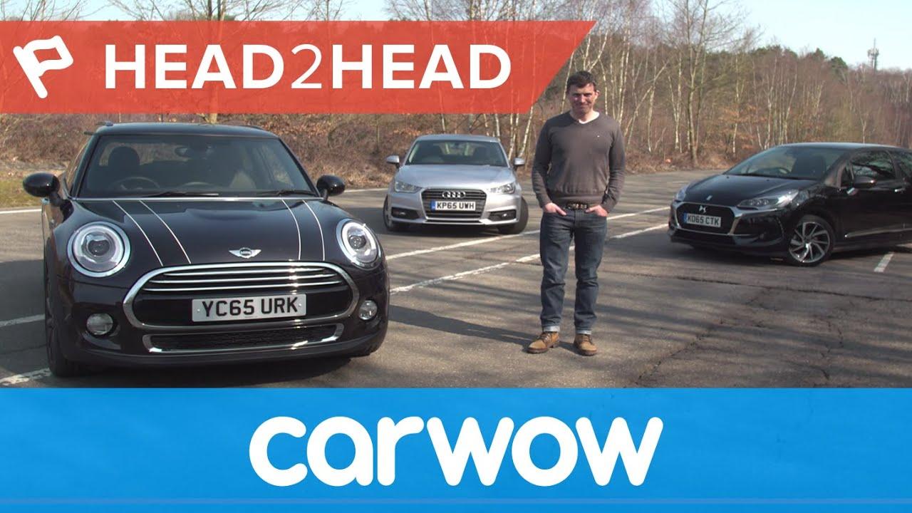 Mini Vs Audi A1 Vs Ds 3 Citroen Hatchback 2016 Review Head2head