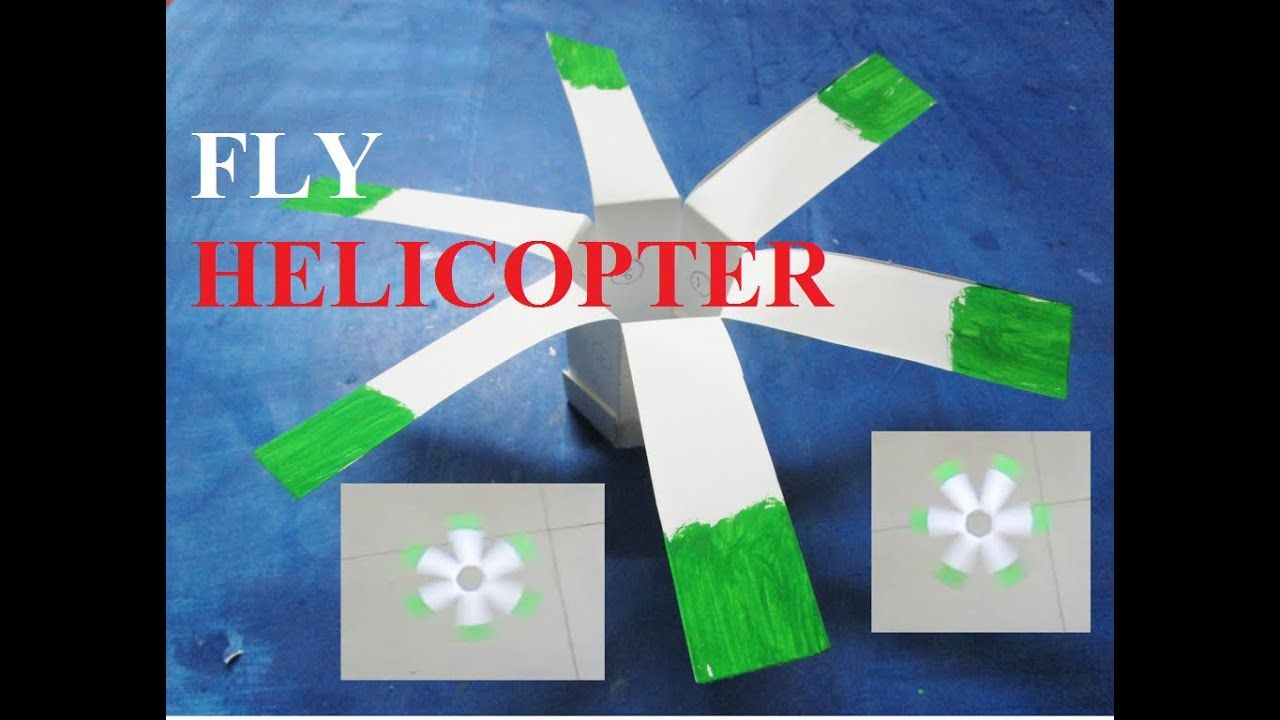 How To Make A Paper Helicopter That Flies Youtube