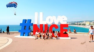 A weekend in Nice France Travel Vlog