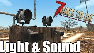 7 Days to Die - Light & Sound  Heat Map - Does it Attract Zombies? (Alpha 16)