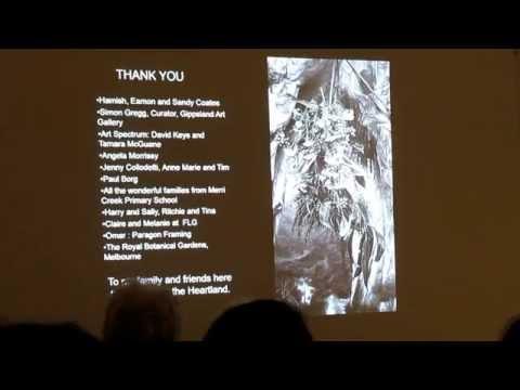 Gina Kalabishis 'Heartland' April 2015 Flinders Lane Gallery