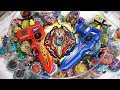 THE 100 BLADER TEST: Ultimate Beyblade Challenge! - Beyblade Burst God/Evolution