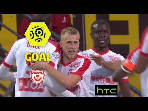 Goal Alexis BUSIN (17') / AS Nancy Lorraine - AS Saint-Etienne (3-1)/ 2016-17