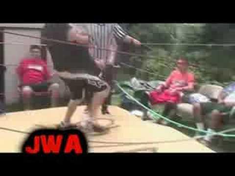 JWA - Tag Team Match (Danny Madness and John Crosb...