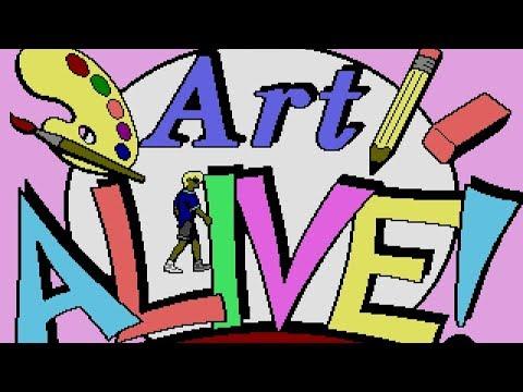 [Full GamePlay] Art Alive! [Sega Megadrive/Genesis]