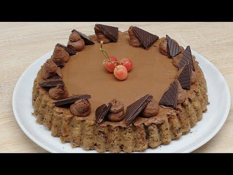 gÂteau-pain-perdu-fraises-et-mousse-au-chocolat-trop-facile-(cuisine-rapide)
