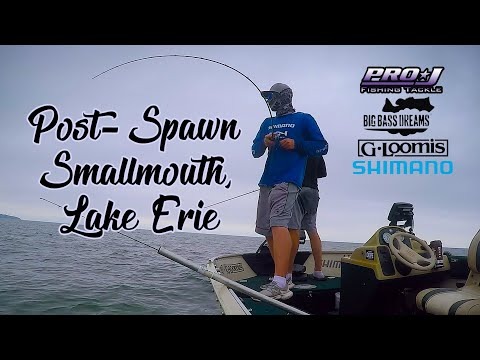 Post-Spawn Lake Erie Smallmouth: L.E.T.S Event #1