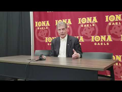 Iona Coach Tim Cluess Comments Post 84-65 win over Fairfield
