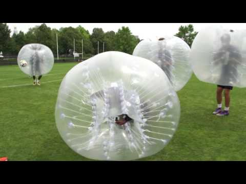 AS Roma Bubble Football Match