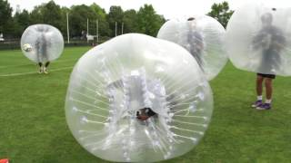 AS Roma Bubble Football Match