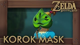 Zelda Breath of the Wild - Korok Mask Location