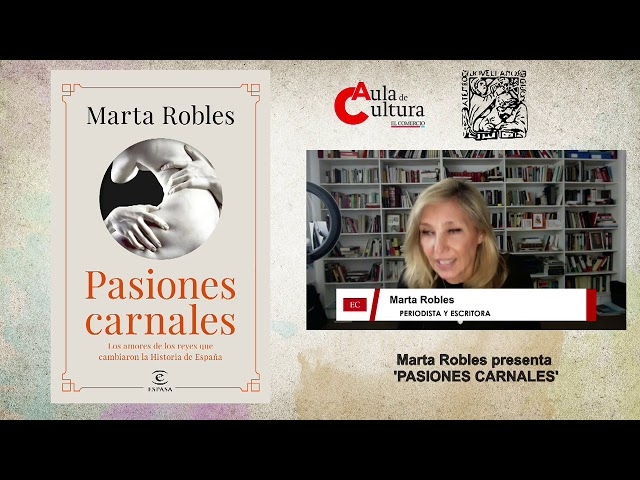 Presentación: 'Pasiones Carnales' de Marta Robles