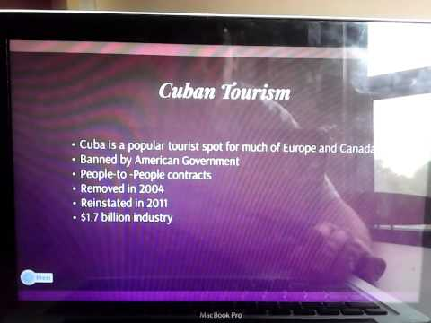 Cuban Tourism from the United States