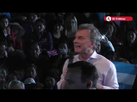 Mauricio Macri visitó Jujuy a días de las Paso