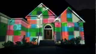 Charter Communications - House Projection Mapping