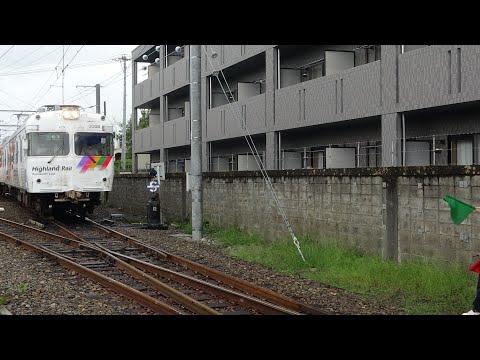 【アルピコ交通 上高地線】災害一部区間不通による新村駅折り返し作業