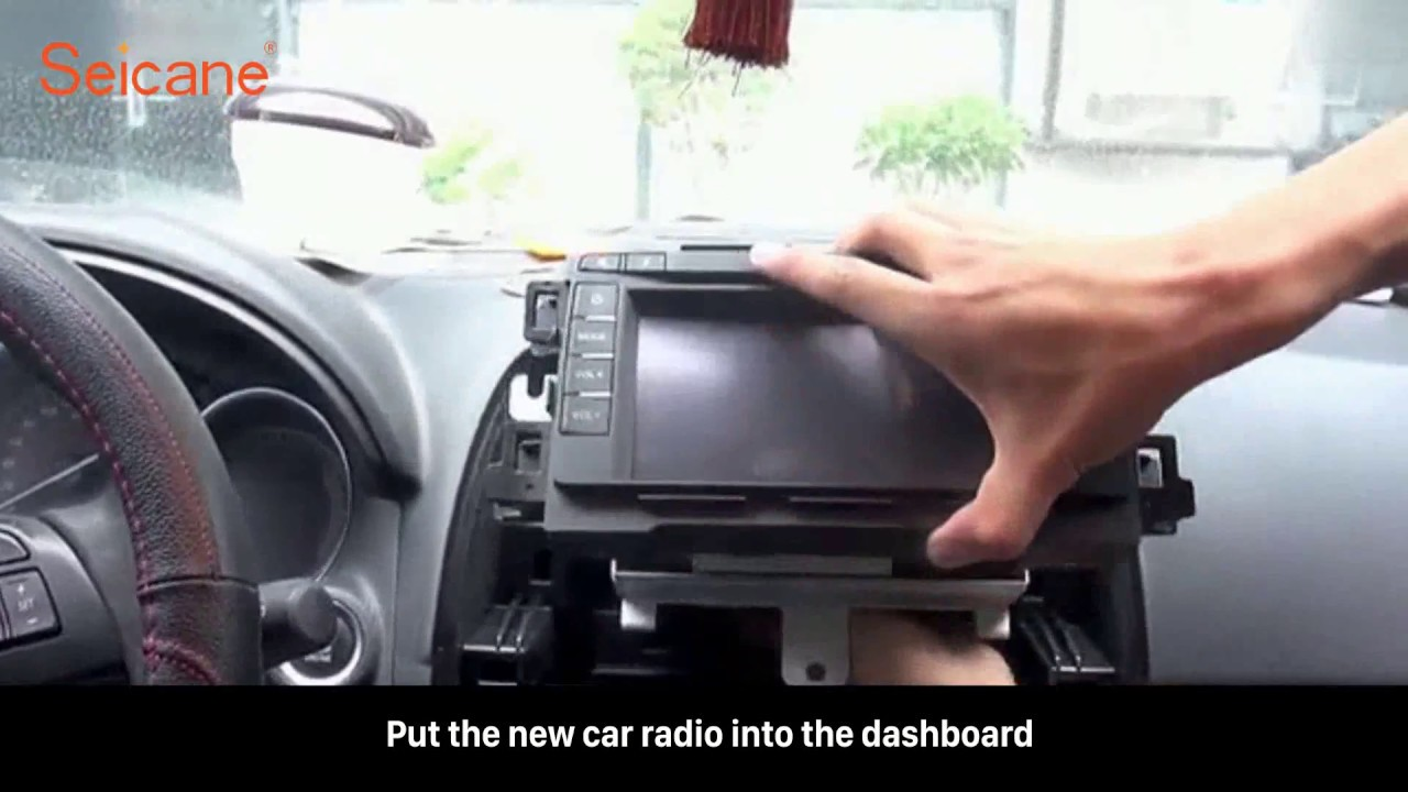 how to remove and upgrade mazda cx-5 atenza factory radio to new car