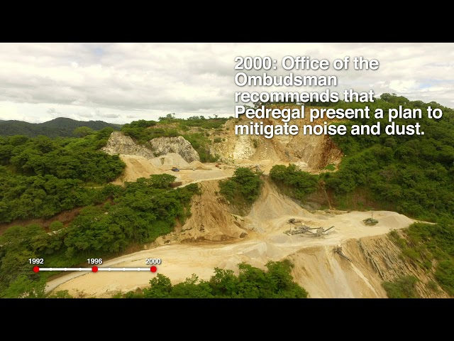 Pedregal Quarry: The Privilege of a Dated Concession