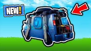 FORTNITE NEW RESPAWN VEHICLE! NEW FORTNITE PATCH V8.30 UPDATE! NEW FORTNITE ITEM SHOP UPDATE