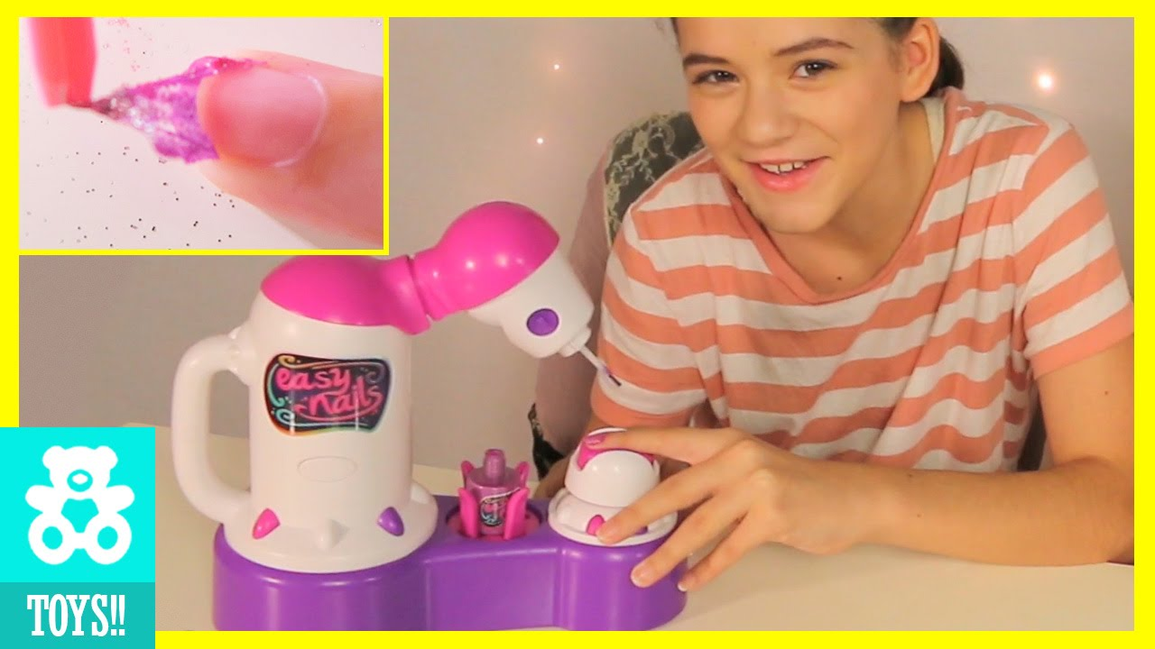 Easy Nails Nail Spa L Off Polish Diy Tutorial Kids Toy Review Kittiesmama You