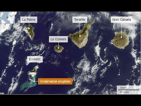 Canary Islands Volcano Alert - Tenerife, La Palma, El Hierro - Grand Solar Minimum Update