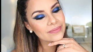 TUTORIAL AHUMADO AZUL INTENSO - NHAR MAKE UP STUDIO