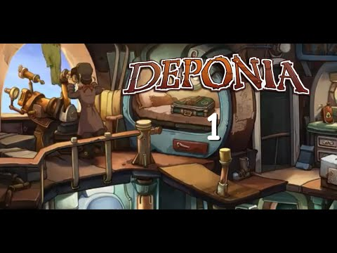 "Welcome to Deponia! Episode 1 ""One Man's Trash is Still Trash!"" 
