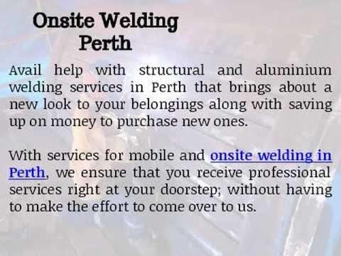 Mobile Onsite Welding Repairs in Perth