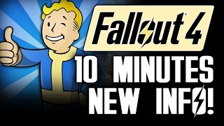 Fallout 4 News: NEW Info From QuakeCon Gameplay Demo: Weapons, Companions & Leveling Perks