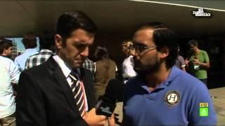 """Gonzo entrevista a Mario Conde y a los votantes de """"Sociedad civil y democracia"""""""