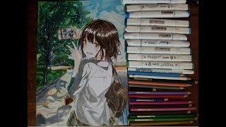 Vẽ Manga Girl (Student Girl)