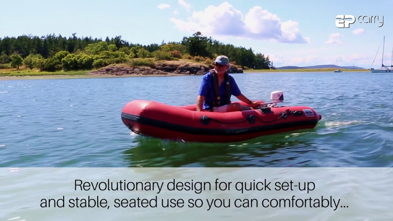 EP Carry - Electric outboard motor for your dinghy