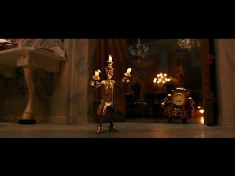 Lumiere Plots Romance Clip Disney S Beauty And The Beast Youtube