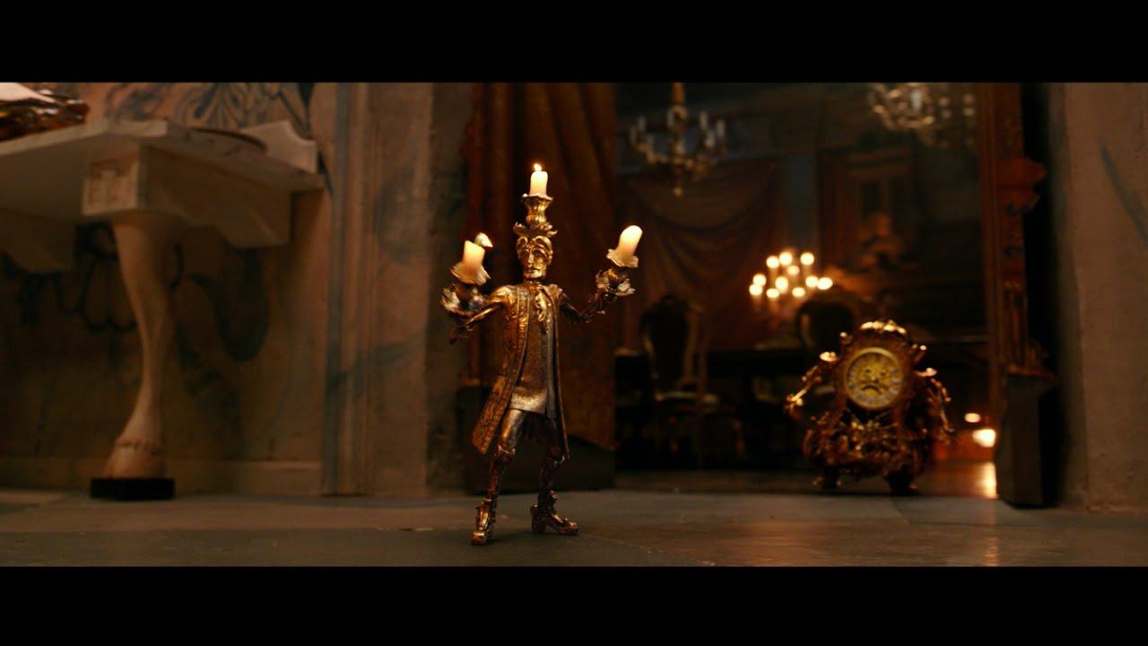 Lumiere Plots Romance Clip Disney S Beauty And The Beast Youtube