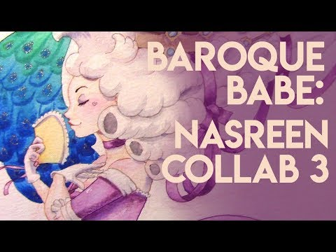 Baroque Babe - Fashion History Collaboration with Nasreen || Silver Filigree 3