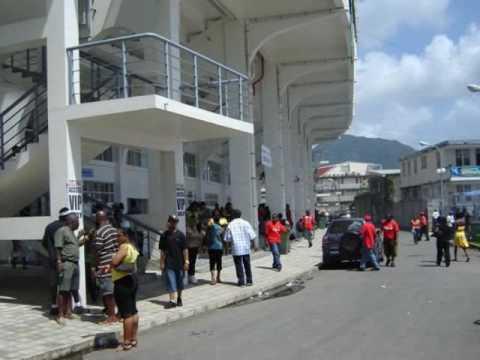Dominica's New Windsor Park Stadium