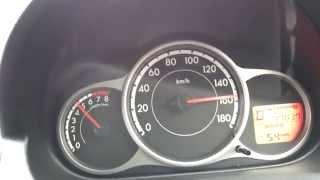 마쓰다 데미오 0-160km/h 가속(Mazda Dem…