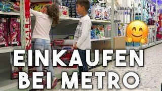 Live Metro Einkauf   Großmarkt   Vlog   Filiz